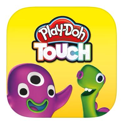 "Tablet o celular con la app ""Play Doh Touch"""